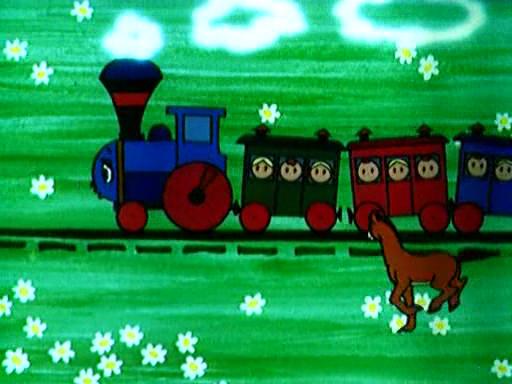 Скачать мультфильм паровозик из ромашково фото 133-125